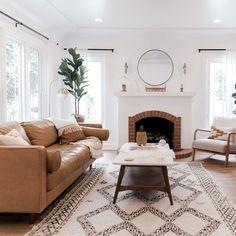 Mid Century Modern Living Room, Mid Century Modern Decor, Living Room Modern, Home And Living, Living Room Designs, Mid Century Couch, Mid Century Bedroom, Boho Living Room, Living Room Decor
