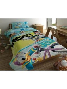 Bedsheets Set Mickey Mouse & Friends - 2 flat sheets 170X260 + pillowcase