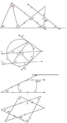 58 Best Geometry angles & pairs of angles images