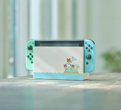 Nintendo Switch Animal Crossing: New Horizon Special Edition - - White with Pastel Green/Pastel Blue Joy-Con Controllers for sale online Nintendo Switch News, Nintendo Switch System, Nintendo News, Jeux Nintendo 3ds, Nintendo Eshop, Nintendo Consoles, Nintendo Party, Nintendo Controller, Nintendo Pokemon