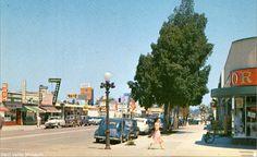 Sherman Way in Canoga Park circa 1949
