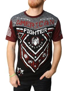 American Fighter Men's Hunter Graphic T-Shirt Professional Attire, Professional Women, American Fighter Shirts, Man Hunter, Mens Attire, Shirt Designs, Menswear, Mens Tops, T Shirt