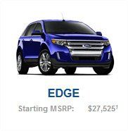 FORD EDGE BROCHURE! Follow the link to download.