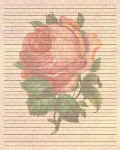 Printable Writing Paper (152) by Lady-Valentine-Art.deviantart.com on @deviantART