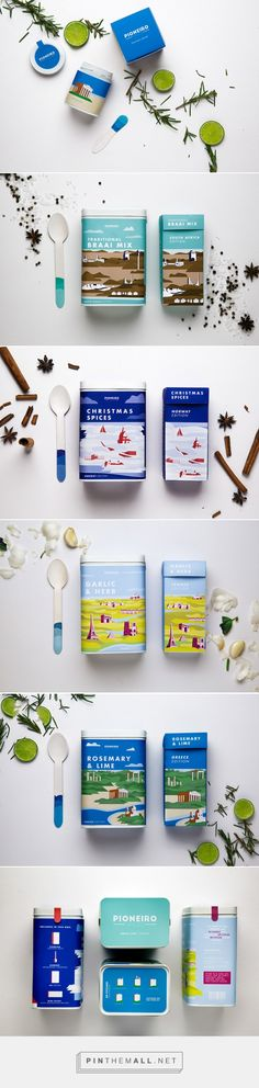 Pioneiro Spice - Daily Package Design InspirationDaily Package Design Inspiration | - created via https://pinthemall.net