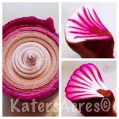 My Favorite Shortcut: 2 Petals Canes from 1 Skinner Blend by KatersAcres | WIP Wednesday post series, see what's new in my polymer clay stud...