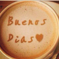 Buenos días amantes del café !!!