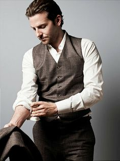 """I'm obsessed with Bradley Cooper - not just his """"demolitionvenom Photo"""". I just have a thing for sophisticated good looking men! & that outfit!"""