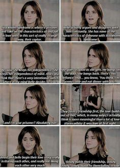 This is a really good argument. Emma would have this level of analysis, especially given she's playing Belle