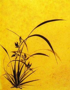 Sumi E Painting, Sketch Painting, Japanese Painting, Chinese Painting, Korean Art, Asian Art, Japanese Prints, Japanese Art, Oriental Flowers