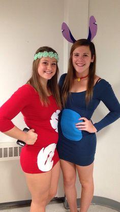 Custom made lilo and stitch costume #halloween #liloandstitch #costume #homemade
