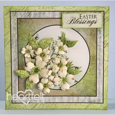 Heartfelt Creations - Green Dogwood Easter Blessings Project