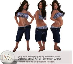 [LVS&CO]BEFORE&AFTER- SLOUCH SHORT SETS-DAY AT THE BEACH