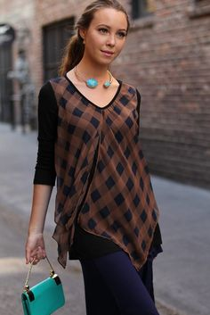 Rock this #ginghamtop on your day outs and become the talk of town!