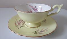Vintage Love, Vintage Tea, Vintage Gifts, Vintage Postcards, Vintage Floral, Vintage Birthday Cards, Tea For One, Bone China Tea Cups, Cup And Saucer