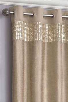 Buy Plum Sequin Banded Eyelet Curtains online today at Next Direct Rep. of Ireland