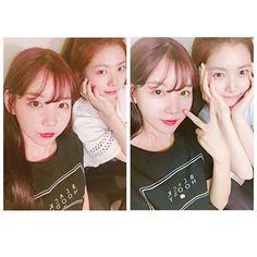 Raina y Kaeun de after school
