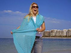Romantic day at the beach with hubby!  FRAAS - The Scarf Company  store.fraas.com