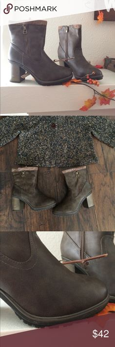 🍁🍂New brown booties 6 1/2🍂🍁 brand new boots Shoes Ankle Boots & Booties