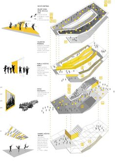 Architectural Concept Diagram - Welcome my homepage Plan Concept Architecture, Poster Architecture, Site Analysis Architecture, Plans Architecture, Architecture Presentation Board, Pavilion Architecture, Presentation Layout, Architecture Portfolio, Architectural Presentation