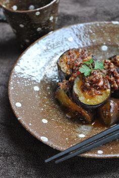 Japanese fried eggplant 茄子の炒め物