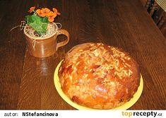 Mazanec podle Nadi recept - TopRecepty.cz Muffin, Dairy, Pudding, Bread, Cheese, Breakfast, Desserts, Food, Morning Coffee