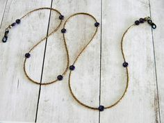 Eyeglass Chain Bronze Blue, Beaded Glasses Chain, Eye glass Holder, Gift for Her, Sunglasses Chain, Reading Glasses, Mother Gift Under 25 by AJorgensenDesigns on Etsy Bronze, Eyeglass Holder, Glass Holders, Blue Beads, Reading Glasses, Beaded Flowers, Midnight Blue, Czech Glass, Mother Gifts