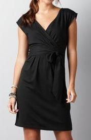 Ann Taylor Loft Crossover Belted Knit Dress I own it and love it! This is a great all-purpose dress.