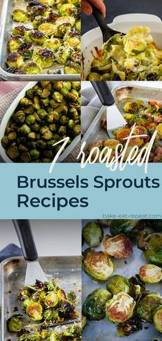 Brussel sprouts are one of our favourite side dishes, especially when they're roasted! Here are seven fantastic roasted Brussel sprouts recipes for you! #brusselssprouts #brusselsprouts #sidedishrecipe Side Dish Recipes, Side Dishes, Dinner Recipes, Dinner Tonight, Sprouts, Roast, Healthy Recipes, Food, Side Plates