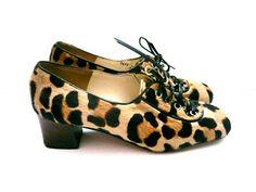 Chaussures imprimé léopard . Escarpins . Chaussures à talons pour femme . Taille…