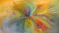 Soft Pastel Drawing - Flowers