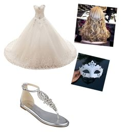 """""""Halloween Dance"""" by allisonnelson890 ❤ liked on Polyvore featuring Nine West"""