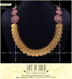 Gold Jewelry Design In India Kids Gold Jewellery, Gold Wedding Jewelry, Clean Gold Jewelry, Gold Rings Jewelry, Gold Jewellery Design, Antique Jewelry, Jewellery Earrings, Temple Jewellery, Jewelery