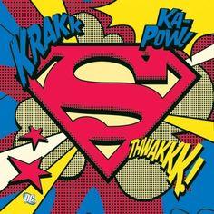 pop art | pegatina superman pop art logo superman pop art logo pegatina tipo ...