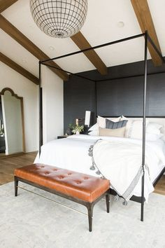 Master bedroom in bl