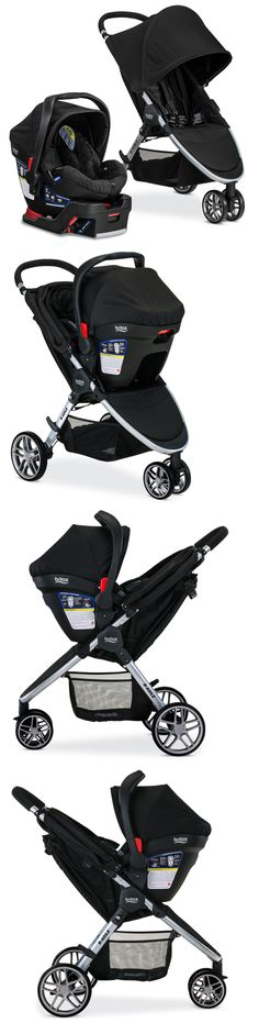 Baby: Britax 2017 B-Agile 3 Stroller And B-Safe 35 Infant Car Seat Travel System Black!! -> BUY IT NOW ONLY: $349.0 on eBay!