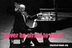 The great pianist speaks!