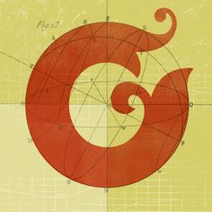 G  #typography I've been in love with geometry for a long time - it's really cool to see the deconstruction of type etc.
