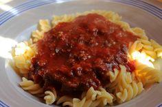 All' Arrabiata Sauce Arrabiata Sauce, Great Pasta Recipes, Poland Food, Guisado, Vegetarian Recipes, Cooking Recipes, Good Food, Yummy Food, Latte