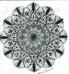 mandala Flower of life by RoxenaBernardi on DeviantArt Mandala Tattoo Design, Flower Tattoo Designs, Flower Tattoos, Mehndi Designs For Hands, Henna Designs, Flower Mandala, Mandala Art, Mehndi Flower, Animal Art Projects