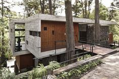 Concrete House in Santa Rosalia Forest
