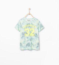 ZARA - KIDS - Text and print T-shirt