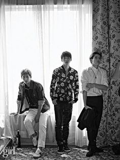 [PIC] 140901 Vogue Girl Magazine September Issue Official Photos - #인피니트 Dongwoo, Woohyun and Hoya pic.twitter.com/B9CIB4X3Ap