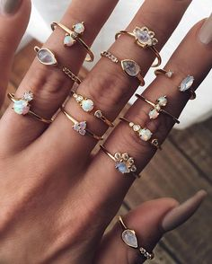 ≻≫≫≫≪≫ R E S T O C K of these pretty babes. www.childofwild.com #childofwild #moonstone