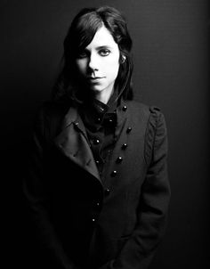 PJ Harvey by Taki Bibelas. Polly Jean has an amazingly intense voice. I think this picture captures her physical presence.