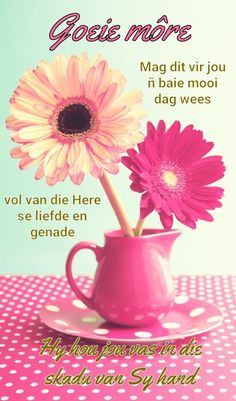 Good Morning Greetings, Good Morning Wishes, Good Morning Quotes, Tricycle Diaper Cakes, Lekker Dag, Afrikaanse Quotes, Goeie Nag, Goeie More, Christian Messages