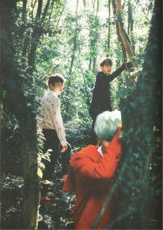 BTS TRIP - Jungkook, Jin & Suga