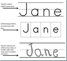 Give Your Preschoolers A Bit Of Printing Practice With This Fun Name Writing  Exercise From Carisa At Each Worksheet Is Designed With A Line For Teachers  Or ...