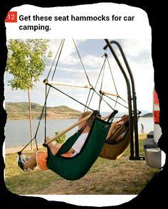 Truck hammock. Get a truck first.
