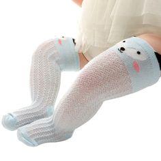 Knee High Baby Socks Newborn Infant Toddler Boy Girl Spring Summer Mesh Style Animal Cotton Socks 0-24 Months Infant Toddler, Toddler Boys, Baby Socks, Cotton Socks, Children, Kids, Mesh, Spring Summer